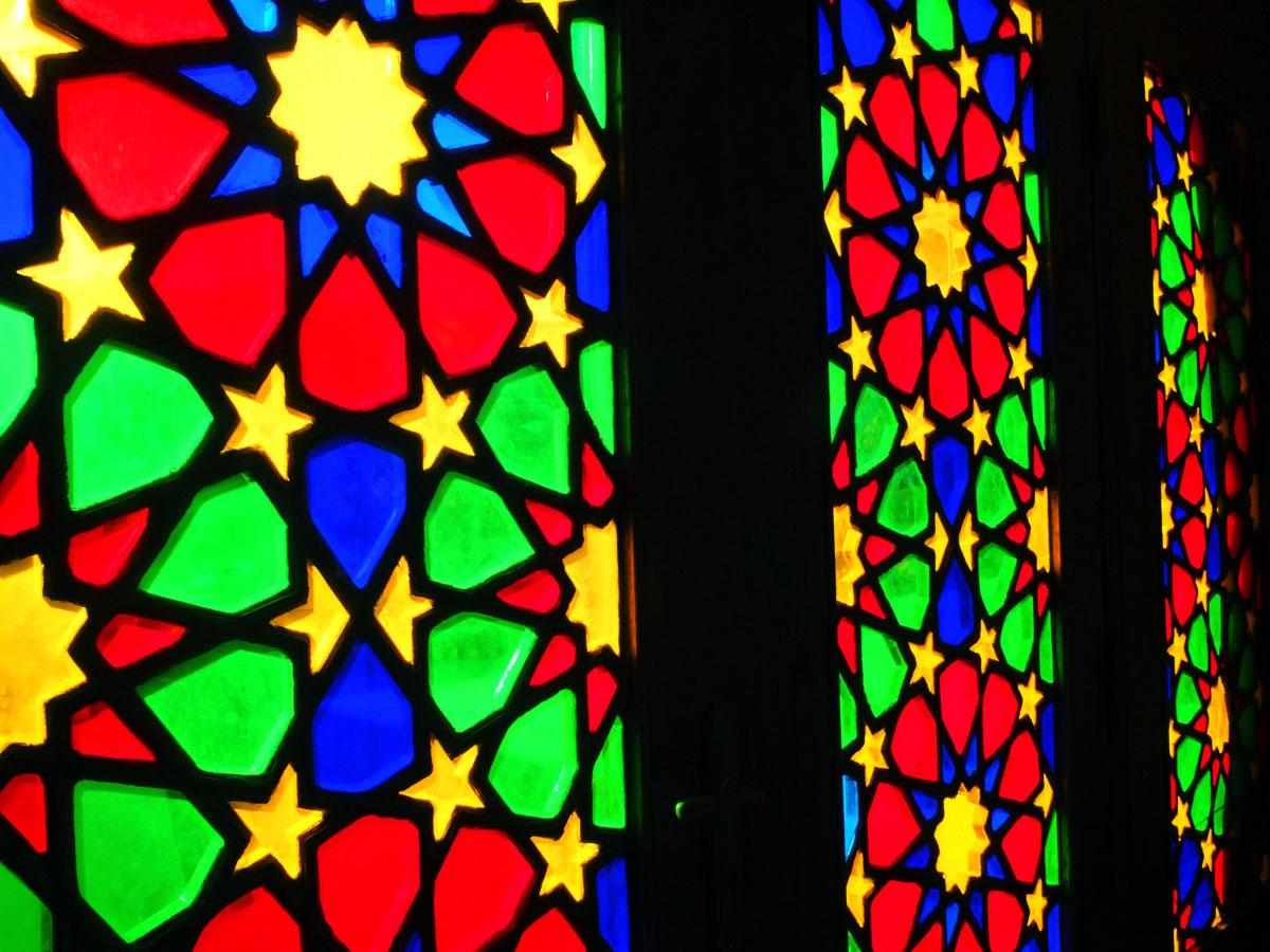 小さなモスクの世にも美しい絶景